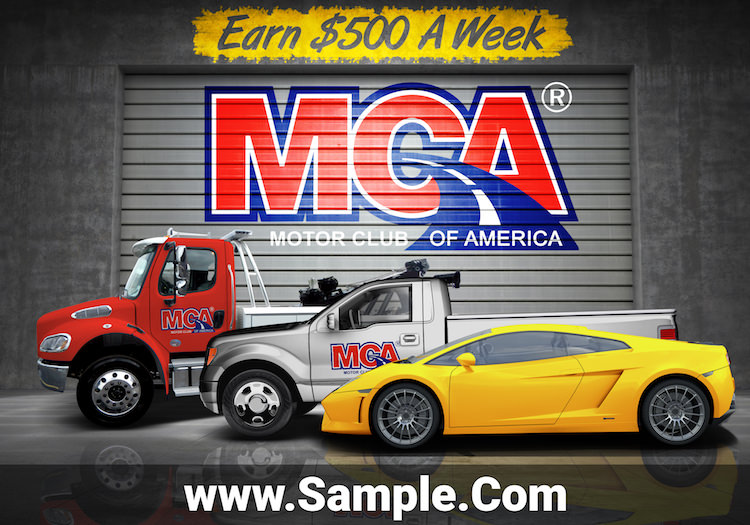 Free mca flyers for Mca motor club of america money